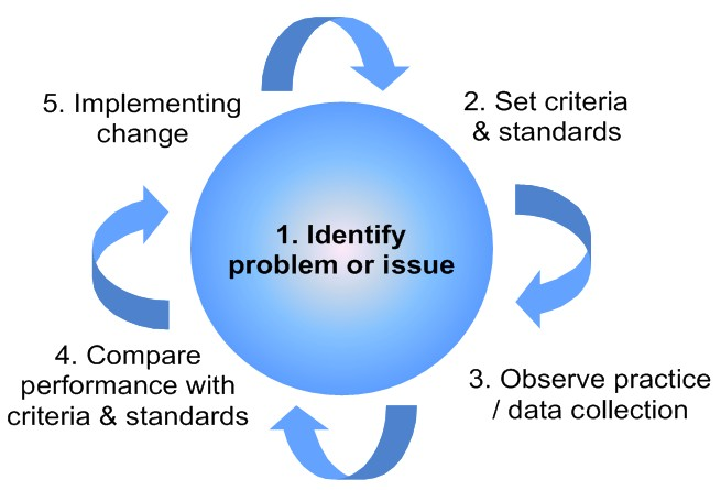 clinical audit cycle