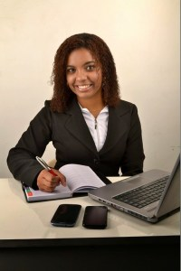 businesswoman lute linux