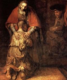 Prodigal Son  Rembrandt