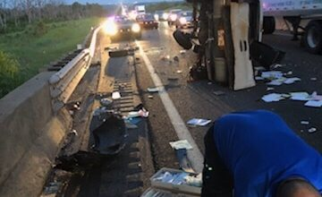 Photo of Early morning turnpike wreck
