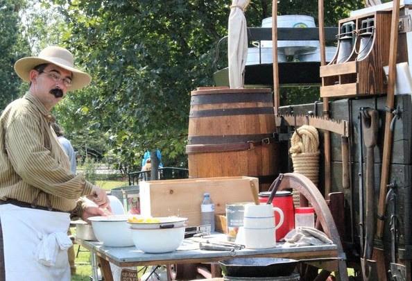 Septemberfest, chuck wagon