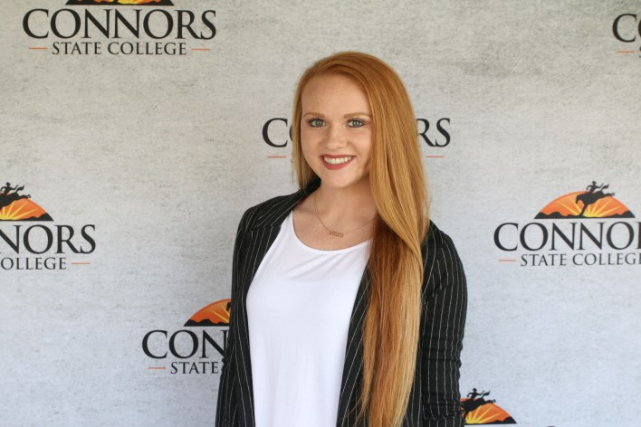 Luther's Johnna Stottlemyre at Connors State