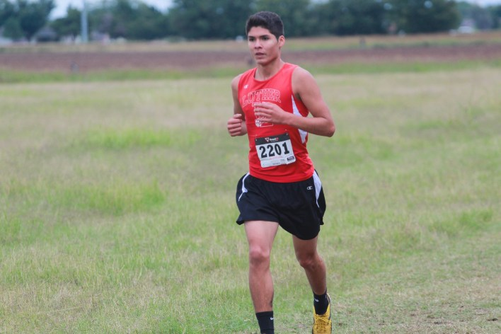 Luther Lions Cross Country Chris Casion