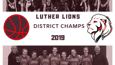 Photo of Luther Lions and Lady Lions are District Champs