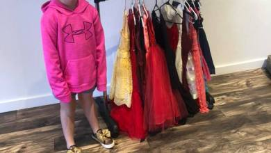 Photo of Say Yes to the Dress, community collects dresses for Daddy-Daughter Dance
