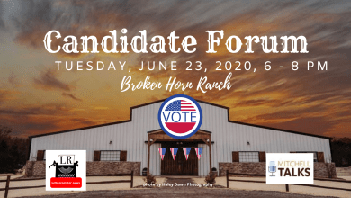Photo of Luther Candidate Forum, Voter Information