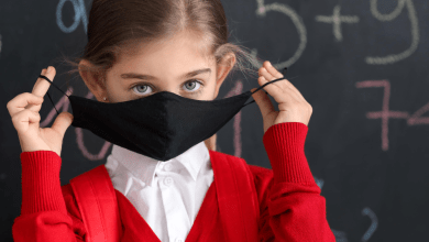 Photo of To Mask or Not at Luther Public Schools