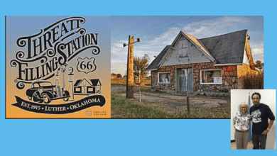 Photo of Luther's Threatt Station, coming home and going far