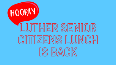 Photo of Luther Senior Tuesday Lunch Returns