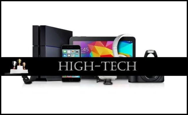 Comparatif : High-Tech