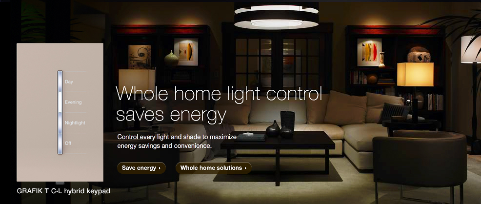 Whole Home Light Control Saves Energy