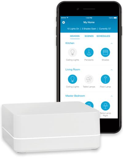 caseta wireless app integration