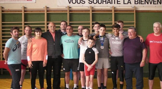Les lutteurs de retour au club après les championnats de France Gréco 2019