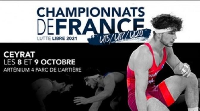 Championnats de France U15 U17 U20 libre 2021