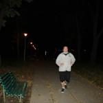Haloween night run
