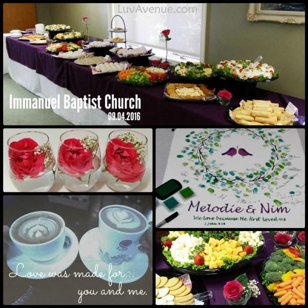 Love Birds Wedding Immanuel Baptist Church