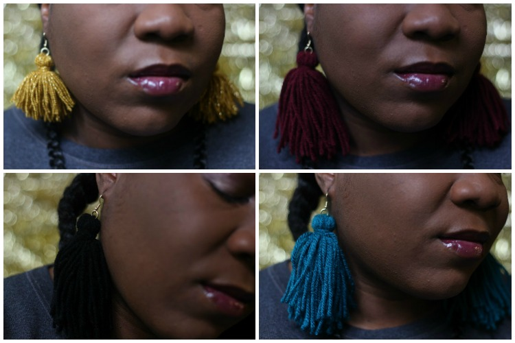 Tassle Earrings DIY
