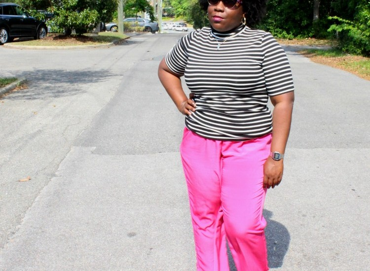 styling pink pants