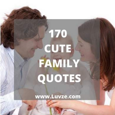 170 Family Quotes And Sayings With Beautiful Images cute family quotes