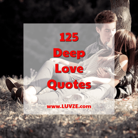 125 Romantic and Deep Love Quotes  Sayings and Messages deep love quotes