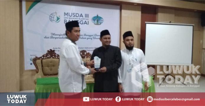 Foto Bupati Banggai saat hadiri kegiatan MUSDA III Wahdah Islamiyah Banggai, Luwuk (22/2/2019).