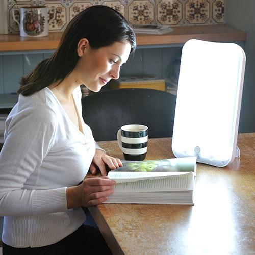 Lampe de luminothérapie Lumie Arabica on