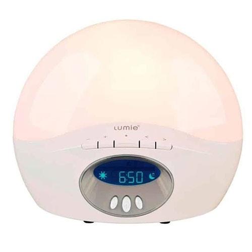 réveil simulateur d'aube Lumie 250 active