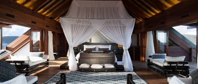 Master Bedroom, Great House, Necker Island