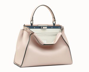 Fendi Pink Peekaboo Iconic Medium