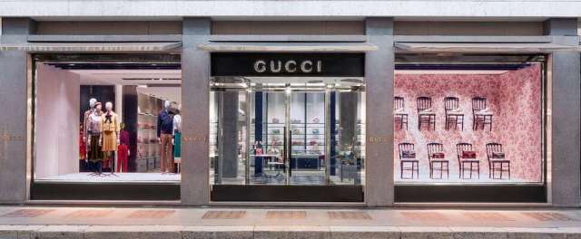Gucci flagship store in Milan