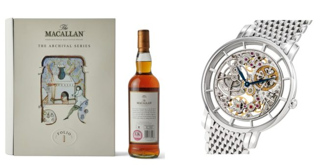 The Gentleman: Watches, Whiskies and Accessories