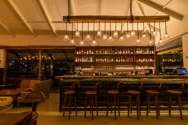 The bar at Saltt restaurant