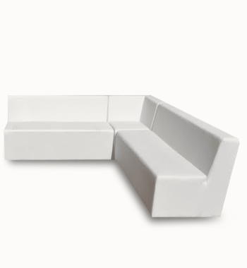 White lounge furniture Rentals