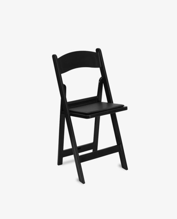 Black Resin Chair Rentals Atlanta