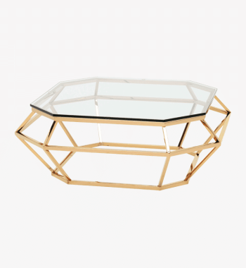 Gold Diamond Coffee Table Rental