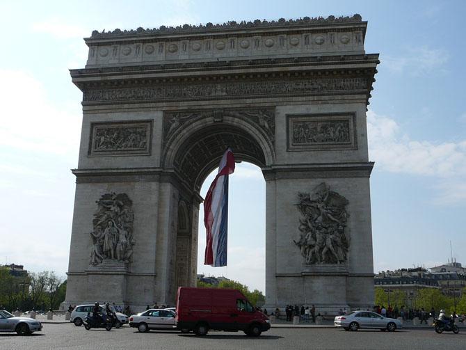 Top 10 Indulgences When In Paris Arc de Triomphe