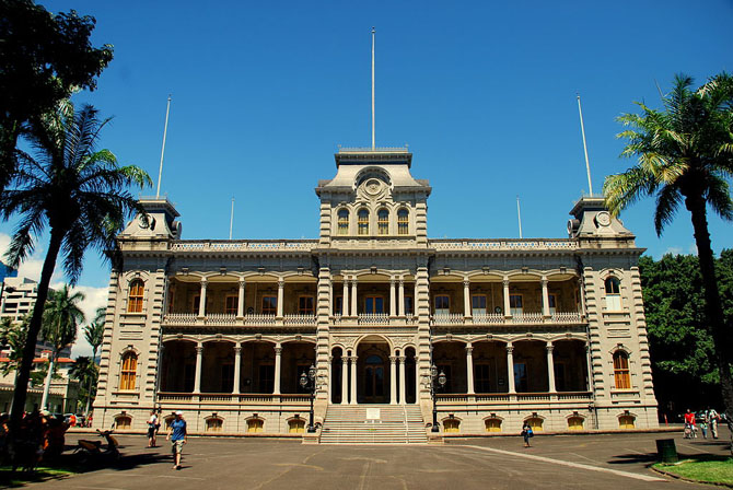 Top 10 Sightseeing Attractions in Honolulu Lolani Palace