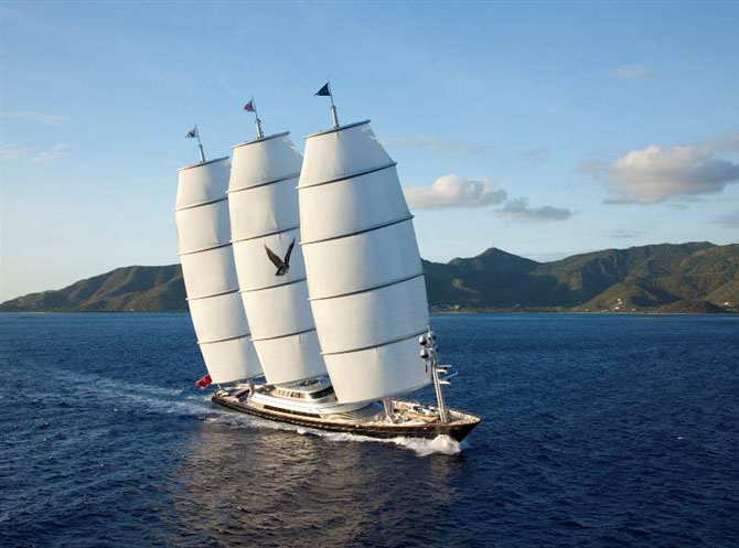 Top 7 Sailing Superyachts to Charter This Winter Maltese Falcon 1