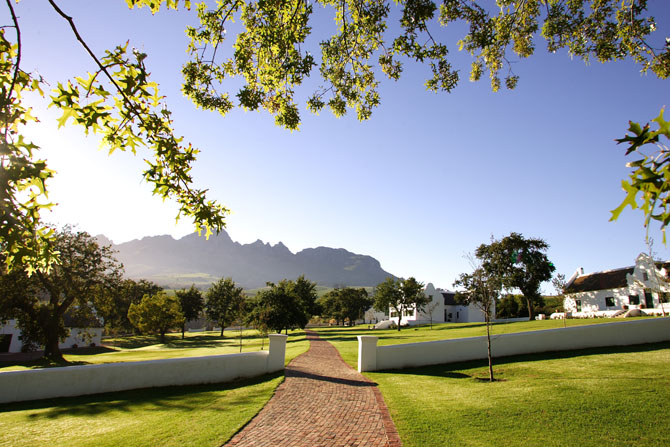 Webersburg Wine Estate Stellenbosch 2