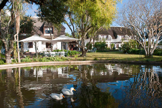 WedgeView Country House & Spa Stellenbosch 1