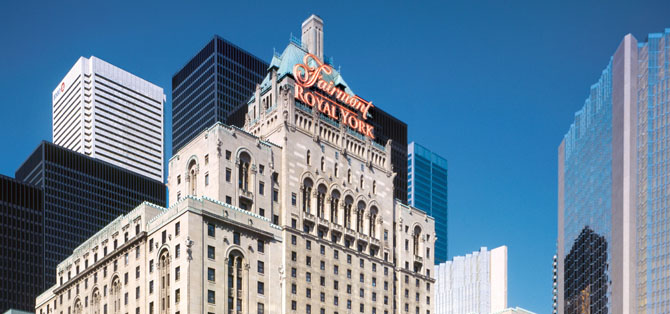 Where to Stay in Toronto The Fairmont Royal York 1