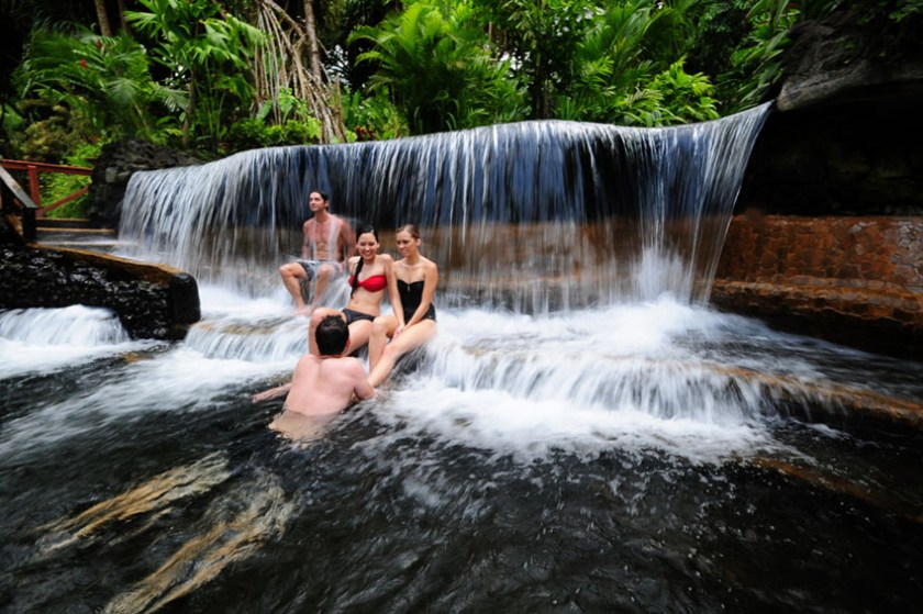 Listen to the Murmurings of the Earth at the Tabacon Spa Costa Rica 2