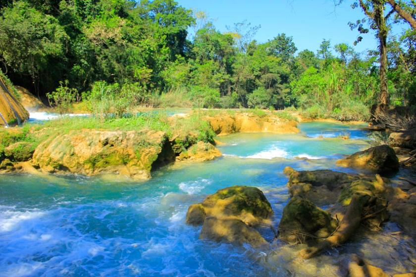 Agua Azul waterfalls San Cristobal de Las Casas Mexico