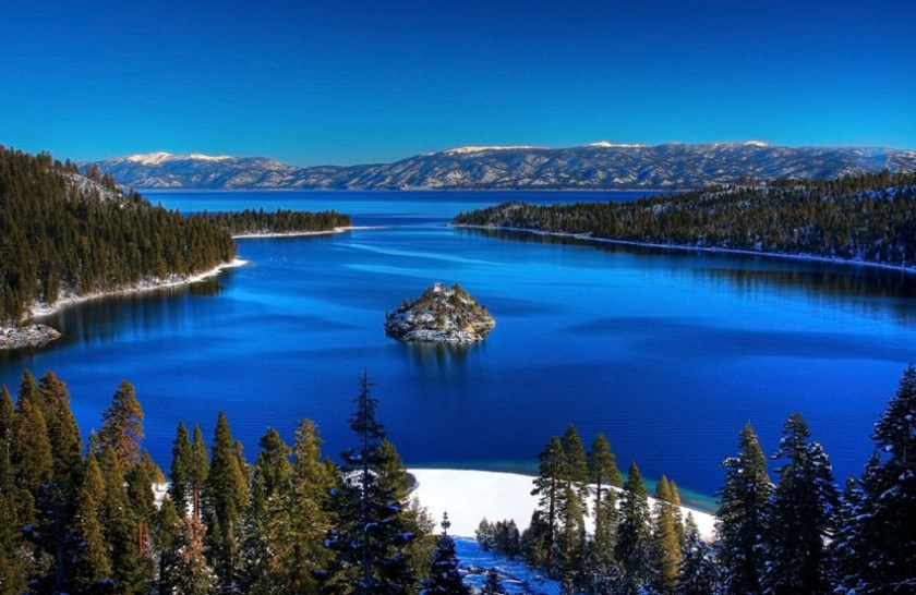 Hottest Ski Destinations in the US Lake Tahoe California