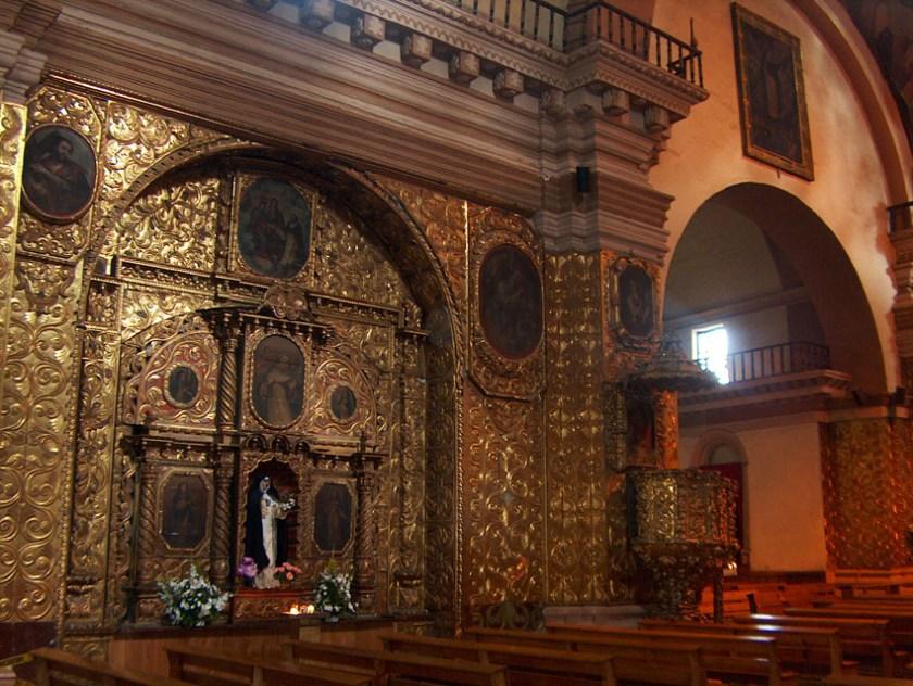 Santo Domingo church San Cristobal de Las Casas Mexico