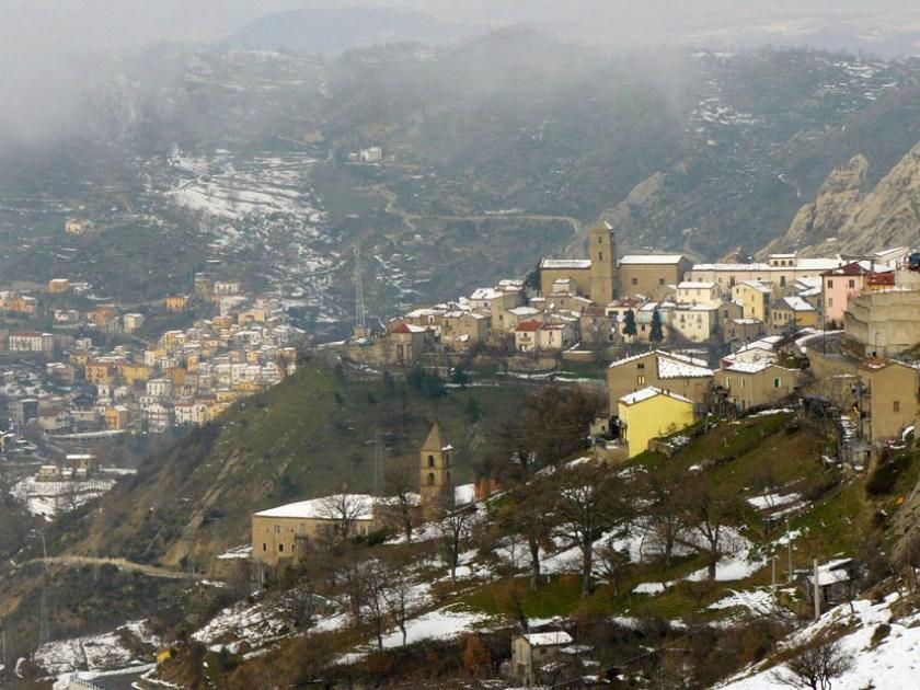 Angel Flight and Culinary Fancies at Castelmezzano Dolomites Italy 1