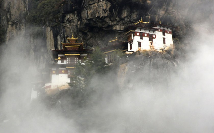 Hanging Temple of Tigers Nest in Bhutan 1