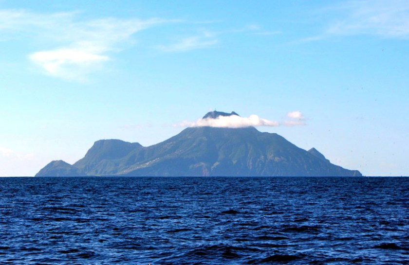 Mighty Peaks and Black Sands on Saba Island 1