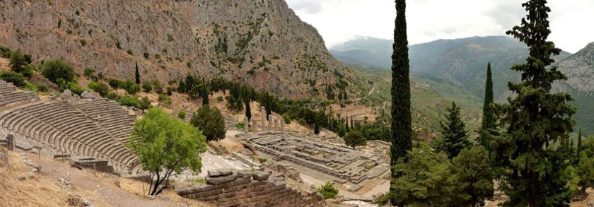 Mount Parnassus Delphi 1