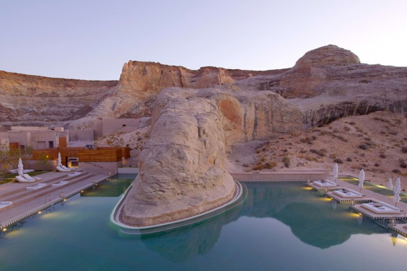 luxury yoga retreat - amangiri